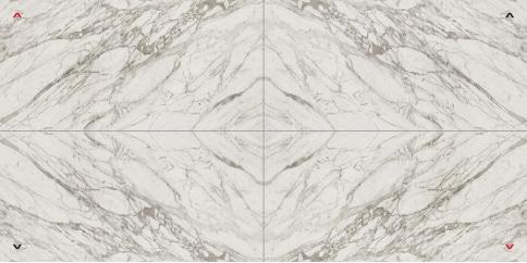 Marvel Statuario Select Layout 1 Lappato 150x300 cm