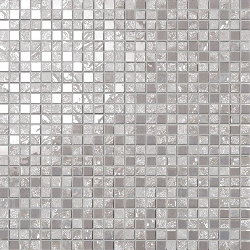 Grey Mosaic Tile Four Seasons Autumn One Luxury Mosaic