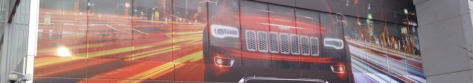 Fiat Auto UK Head Office Amazing Building Wrap