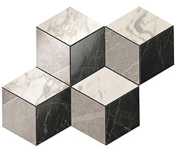 Marvel Cold Esagono Lappato Listello 30x35 cm
