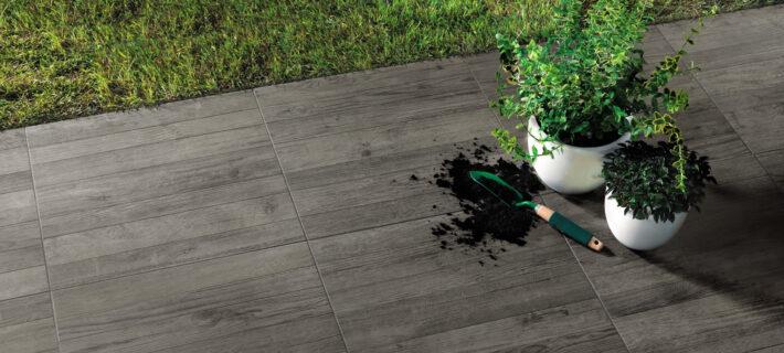 Minoli Axis Grey Timber Grey Wood Effect Tile 09