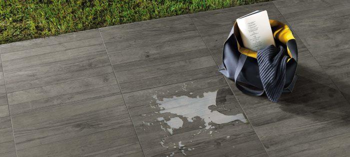 Minoli Axis Grey Timber Grey Wood Effect Tile 10