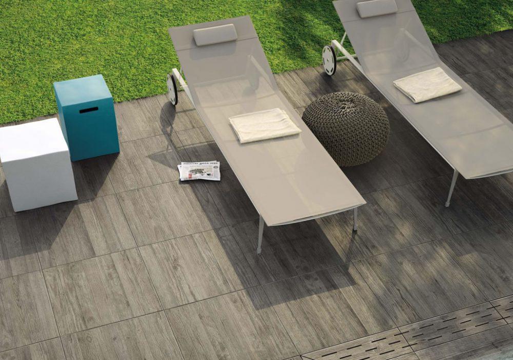 Minoli Axis Grey Timber Grey Wood Effect Tile 11