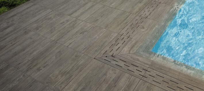 Minoli Axis Grey Timber Grey Wood Effect Tile 12
