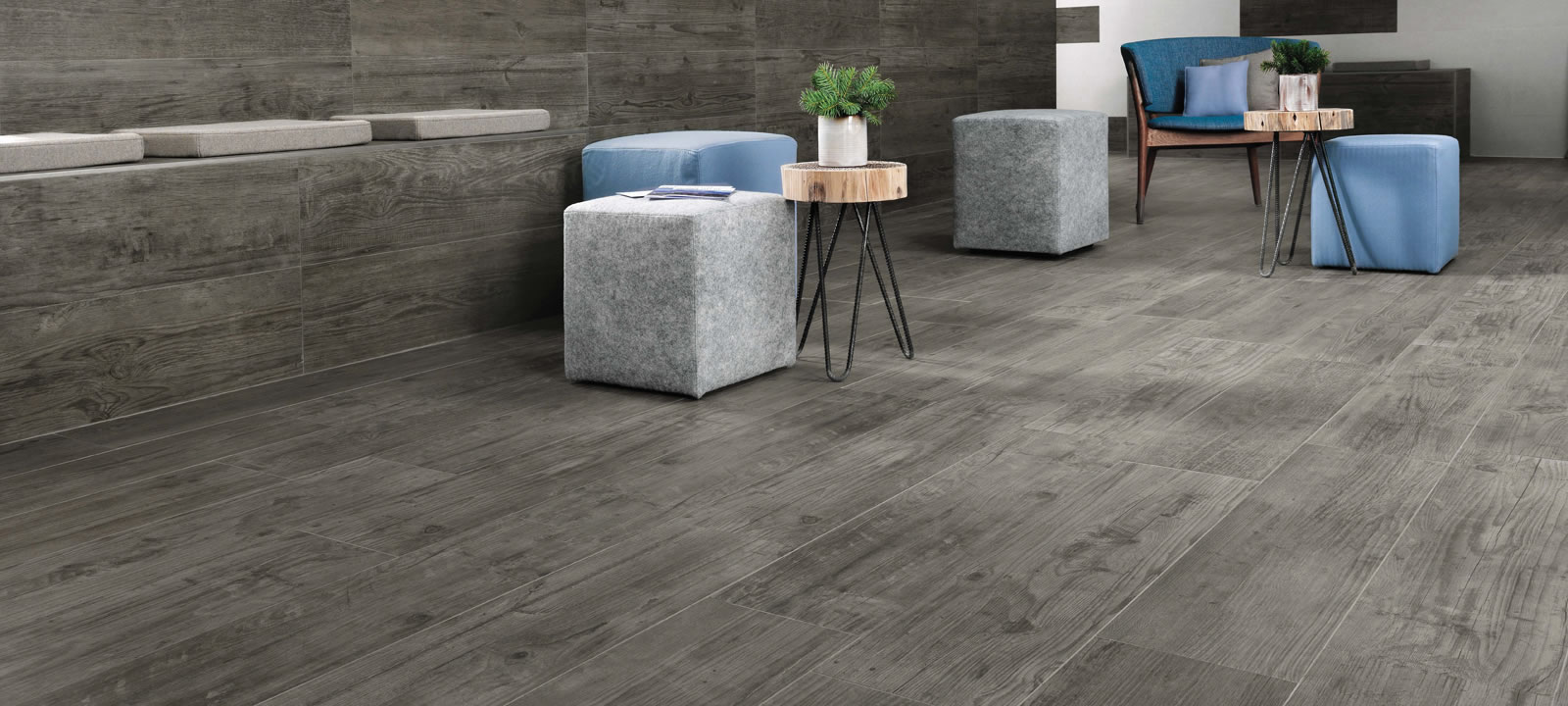 Minoli Axis Grey Timber Grey Wood Effect Tile 00