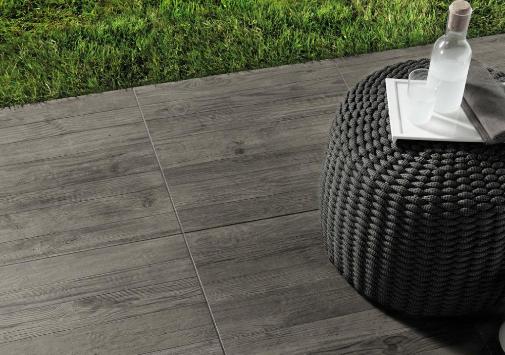 Minoli Axis Grey Timber Grey Wood Effect Tile 08