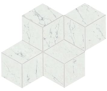 Marvel Carrara Pure Esagono Lappato Mosaico 30x35 cm
