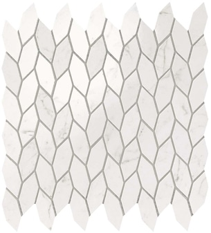 Marvel Carrara Pure Twist Mosaico 30.5x30.5 cm