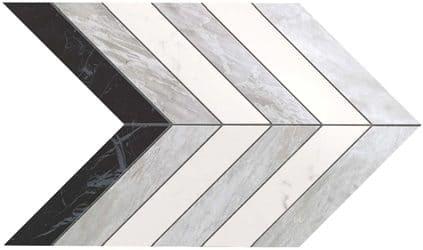 Marvel Chevron Mix Wall 30.5x25 cm