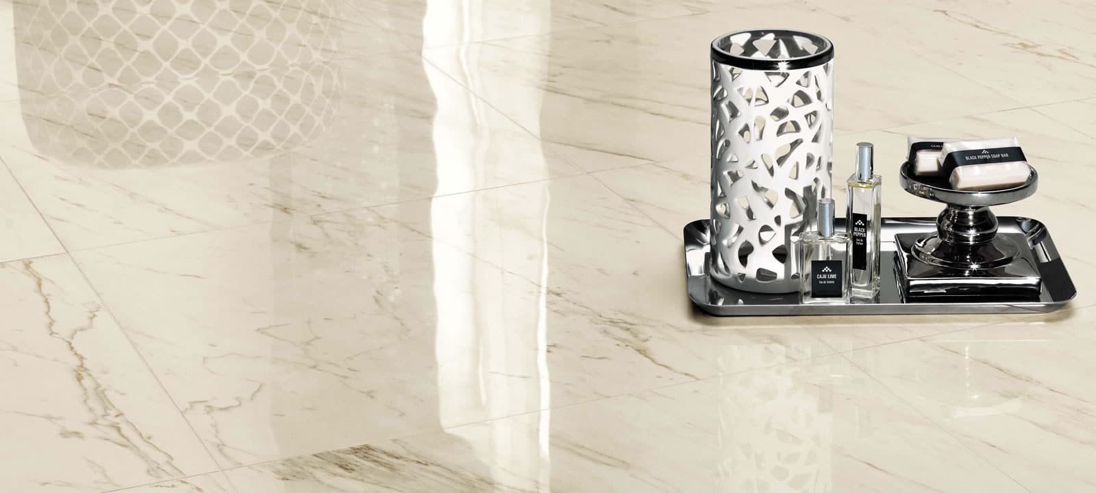Minoli Evolution Marvel Cremo Delicato Marble Effect Porcelain Tiles 07