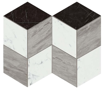 Marvel Esagono Geo Cold Lappato Mosaico 25.4x35.2 cm