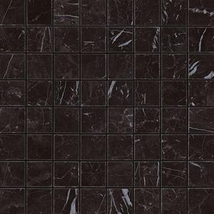 Marvel Nero Marquina Matt Mosaico 30x30 cm
