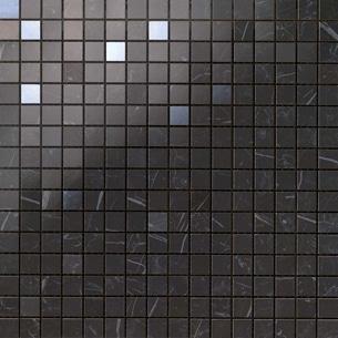 Marvel Nero Marquina Mosaico Q 30.5x30.5 cm
