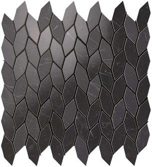 Marvel Nero Marquina Twist Mosaico 30.5x30.5 cm
