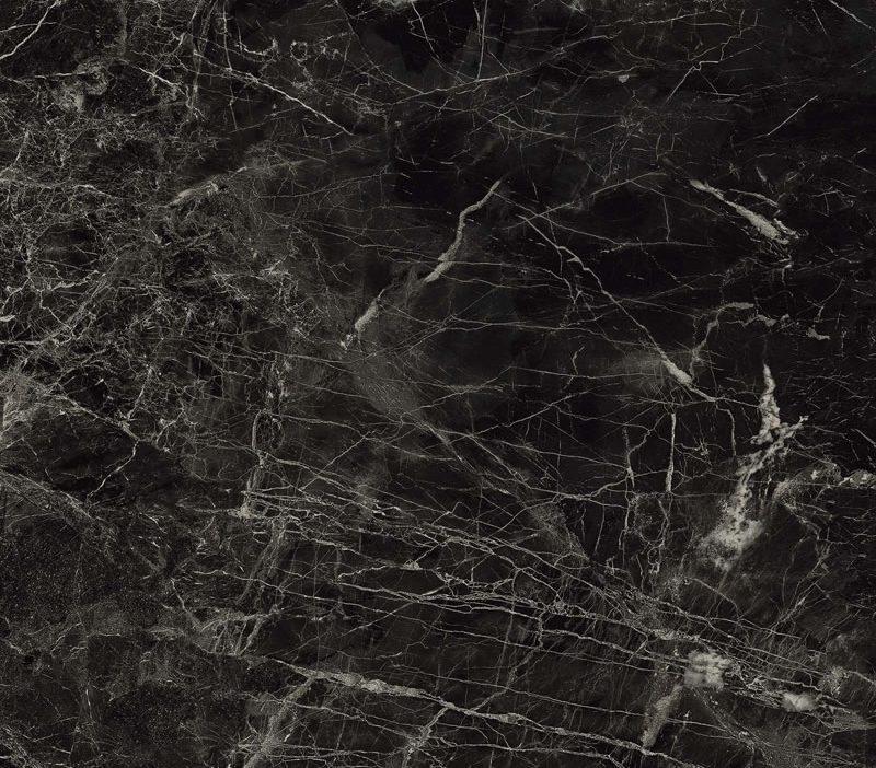 Minoli Evolution Marvel Noir Saint Laurent Black Marble Effect Tiles