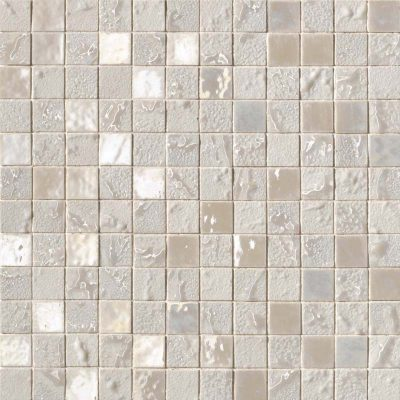 cream mosaic tile