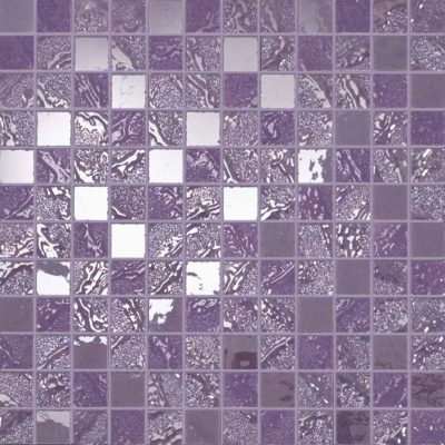 purple mosaic tile