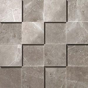 Marvel Grey Fleury 3D Mosaico 30x30 cm