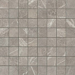 Marvel Grey Fleury Matt Mosaico 30x30 cm