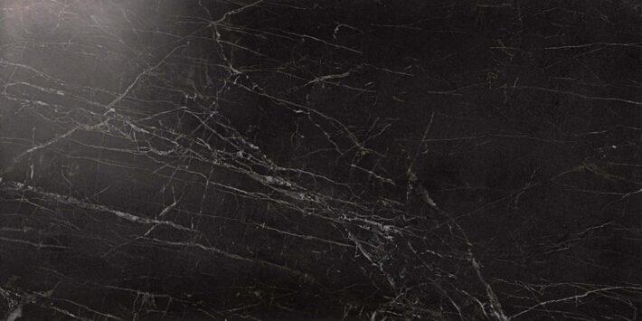 Marvel Noir Saint Laurent Lappato 45x90 cm