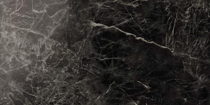 Marvel Noir Saint Laurent Lappato 75x150 cm