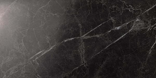 Marvel Noir Saint Laurent Lappato 30x60 cm