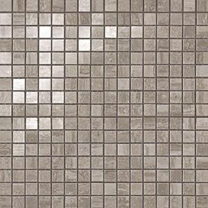 Marvel Travertino Silver Lappato Mosaico 30x30 cm