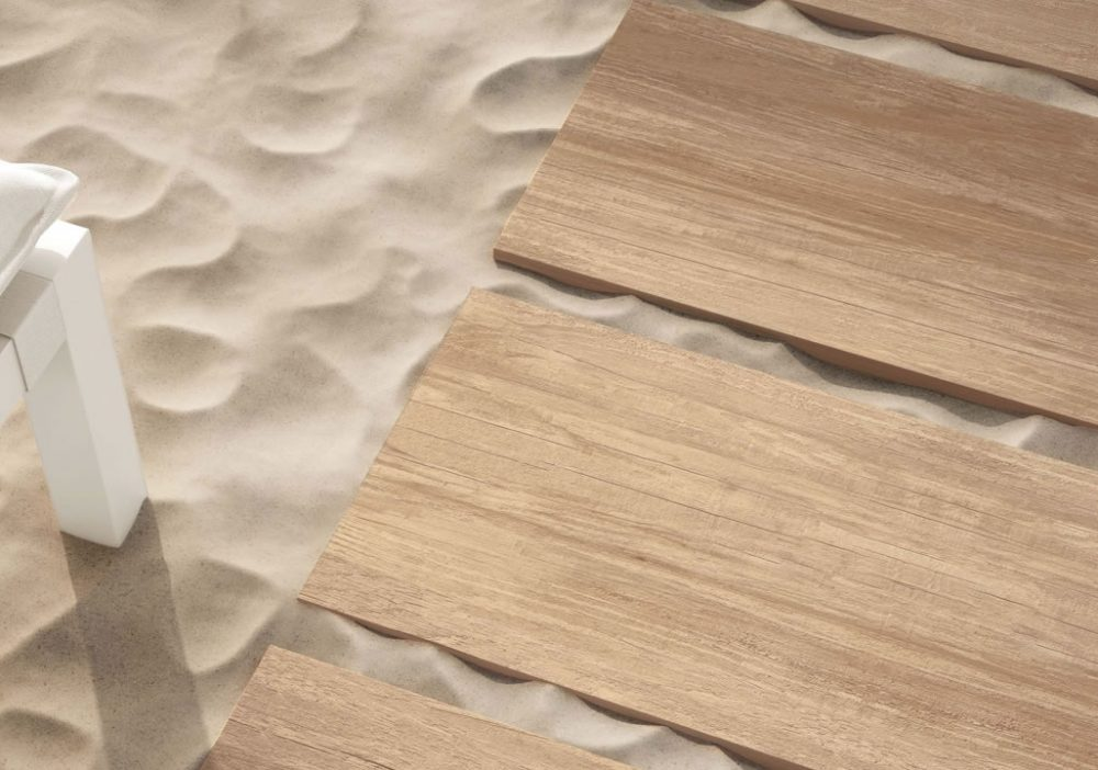Minoli Travelling South Gold Wood Look Porcelain Tile 05