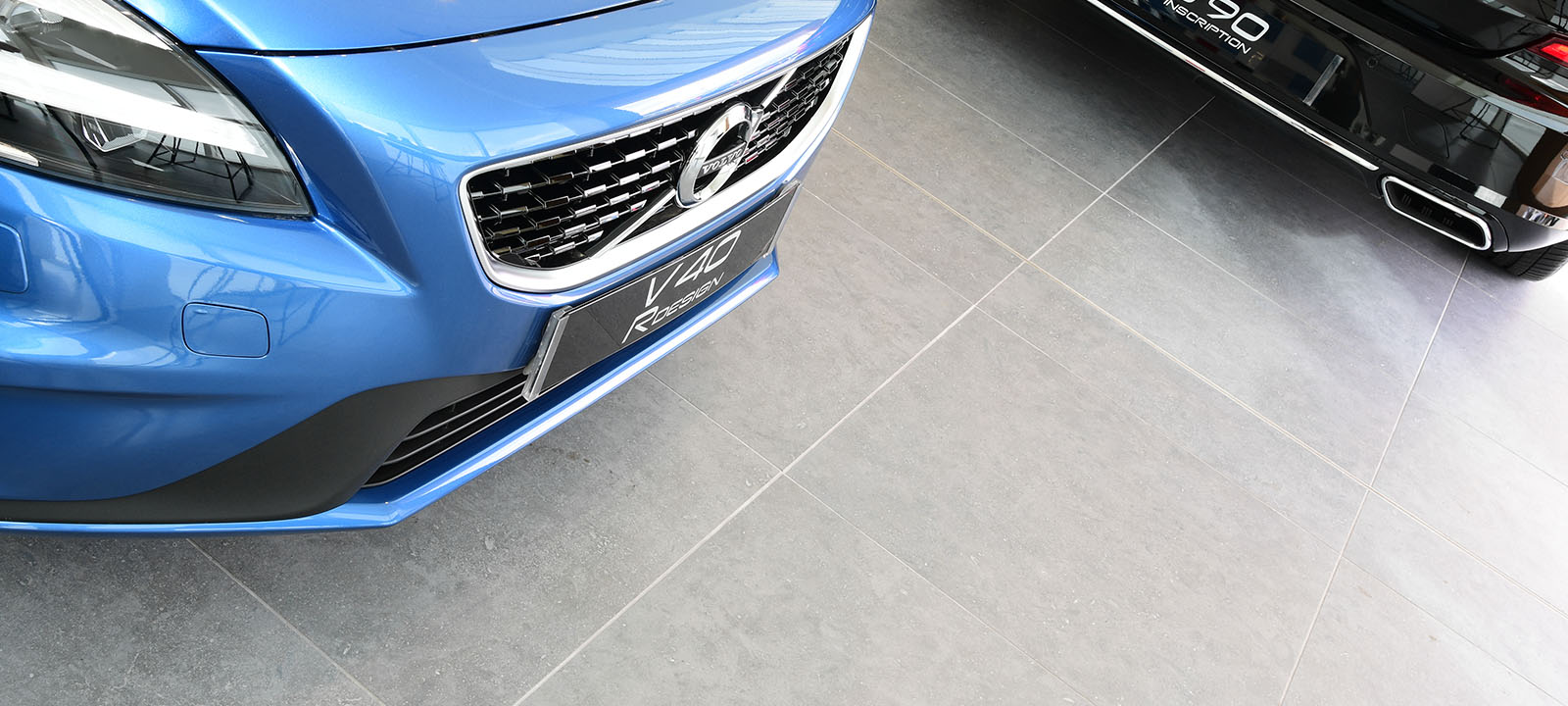 Volvo Showroom in Slough