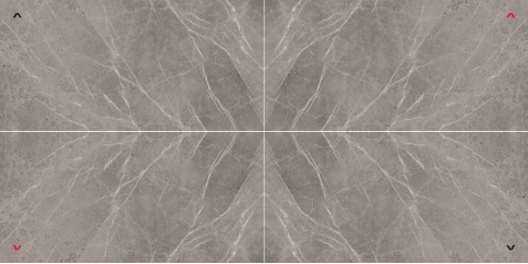 Marvel Grey Fleury Layout 3 Lappato 150x300 cm