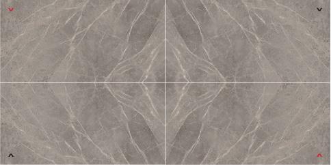 Marvel Grey Fleury Layout 4 Lappato 150x300 cm