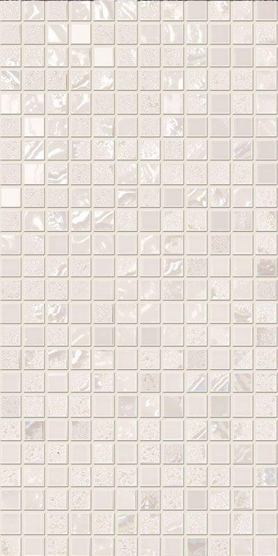 white mosaics