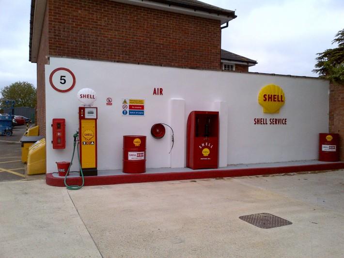 Shell gaage