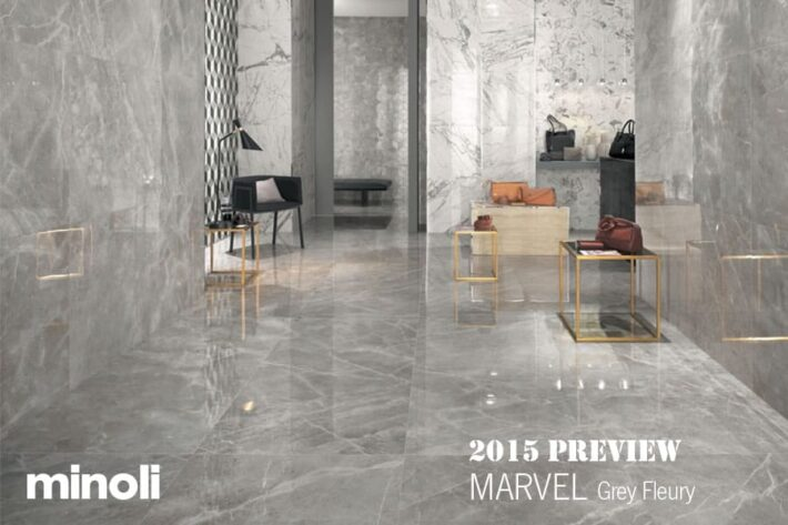Minoli MARVEL - Grey Fleury