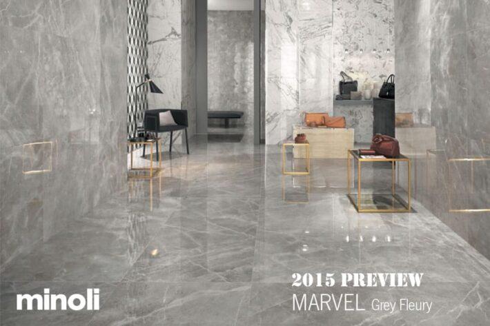Minoli MARVEL - Grey Fleury