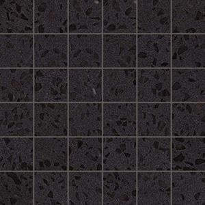 Gemstones Terrazzo Black Lap