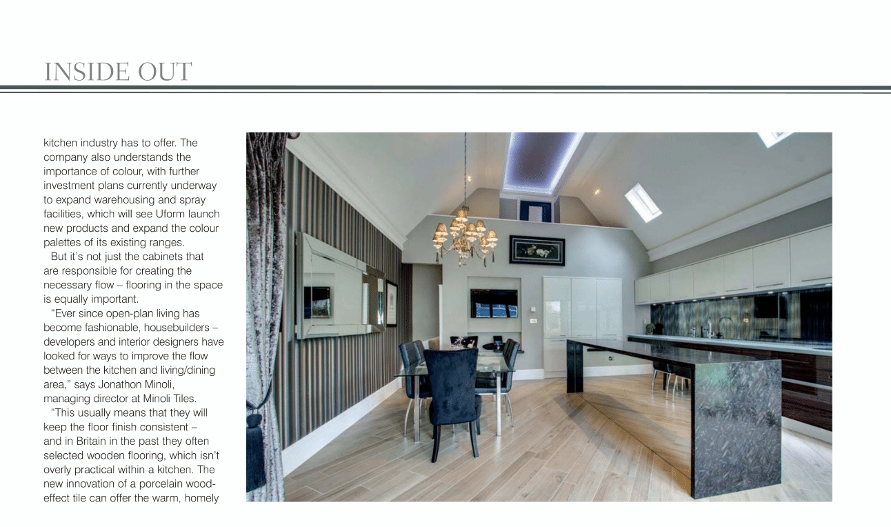 a magazine for builders minoli featured on showhouse magazine. Black Bedroom Furniture Sets. Home Design Ideas
